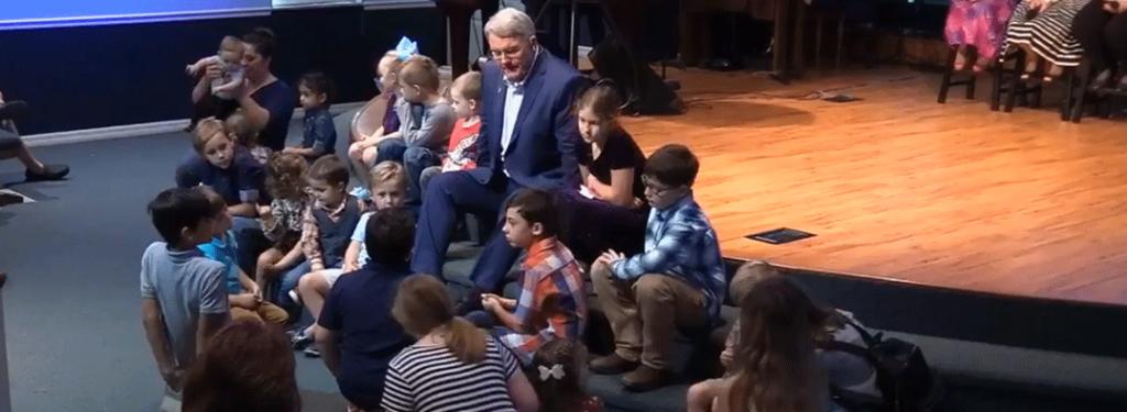 Pastor Russ children's message