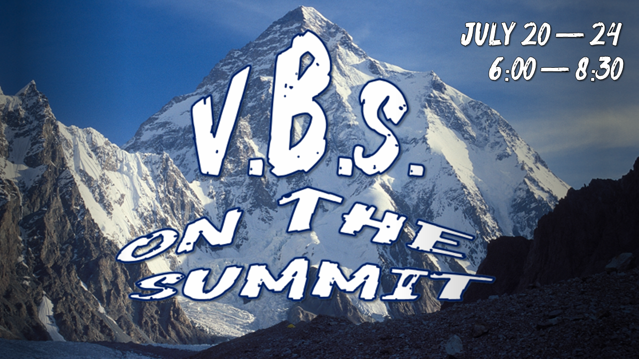FBC VBS July 20-24, 2020