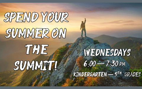 Summit Kids at FBC for summer 2020