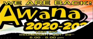 FBC Awana starts Oct. 28, 2020