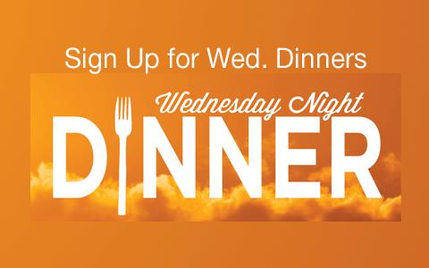 Wednesday Night Dinners